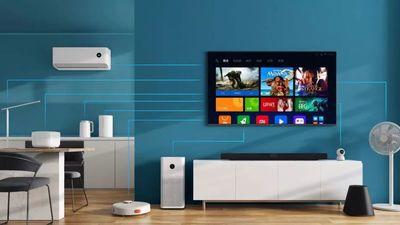 小米发布能通话的壁画电视,以及全面屏电视、立式空调、跑步机等多款新品