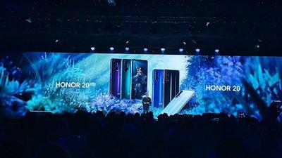 荣耀 20 系列发布:麒麟 980+屏幕下摄像头,DxO 评分全球第二