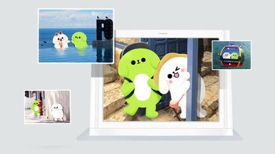 微信相框上新:企鹅童话定制款,支持微信视频通话、设备物联