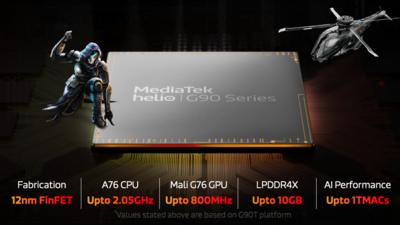 联发科推出 Helio G90 系列手机游戏芯片,Redmi 拿下全球首发