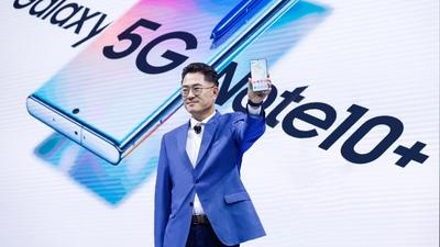 三星发布国行版 Galaxy Note10 系列,5G 全新旗舰售价 7999 元起