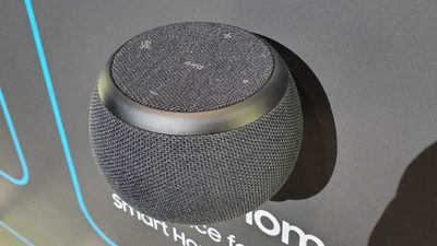 三星亮相了另一款智能音箱 Galaxy Home Mini,不算正式发布也没有开卖