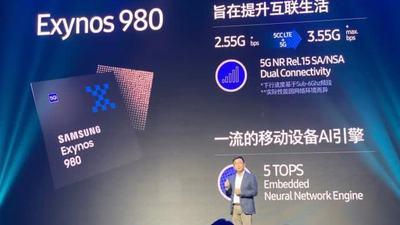携手三星研发 AI 芯片 Exynos 980,vivo 双模 5G 手机将于 12 月上市