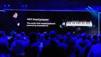 亚马逊推出 AWS DeepComposer 音乐键盘,让开发者一起加入人工智能谱曲创作丨AWS re: Invent