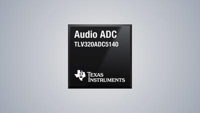 TI 推出新型 Burr-Brown 音频 ADC,解决远场采集和噪声难题
