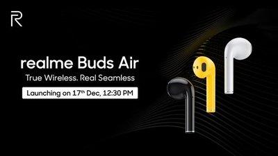 Realme 首款真无线耳机将于下周印度发布,OPPO 新款也要来了