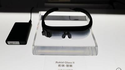 Rokid Glass 2 上手:可折叠式+全程免唤醒语音交互,为行业而生