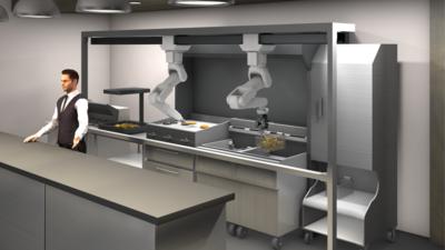避免交叉传染,Miso Robotics 为快餐店打造了下一代机器人厨房助手