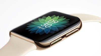 OPPO 首款智能手表曝光汇总:3D 曲面屏,圆角矩形表盘