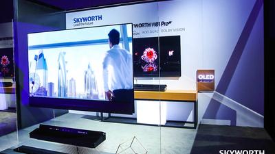 创维发布多款智慧屏电视,集成娱乐、健身、游戏、视频通话等多种玩法
