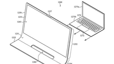 苹果 Mac 新专利,iMac 要去除了屏幕大黑边