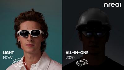 Nreal 一体机正在开发,感知和渲染将直接在眼镜上运行