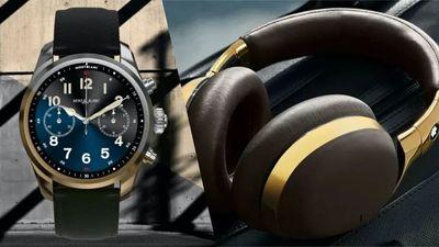 万宝龙双发:首款 e-SIM 智能手表和首款头戴式无线降噪耳机