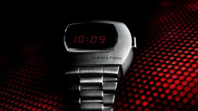 汉米尔顿推出复刻版 Pulsar,全新的 PSR 数字石英腕表售价更亲民