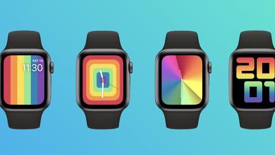 苹果发布 watchOS 6.2.5 Beta 5,新彩虹表盘来了