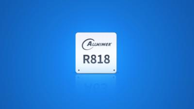 全志科技带屏音箱 AI 芯片 R818,在 AI 算力、音视频上提供更多支持