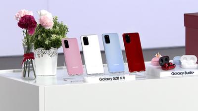 三星 Galaxy S20+ 5G 馥郁红温暖上新,四大旗舰配色集齐