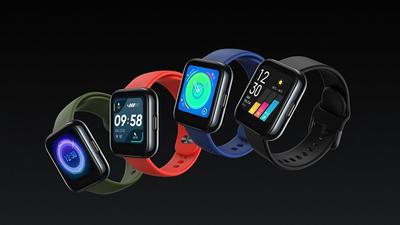 realme 首款智能手表发布,支持心率和血氧检测,不到 400 元