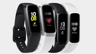 三星新可穿戴设备曝光,或将是 Galaxy Fit 运动手环的升级款
