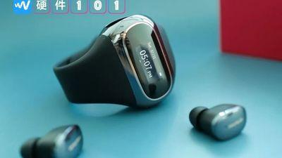 小雅穿戴真无线耳机图赏:运动手环、TWS 耳机、外加腕上充电舱