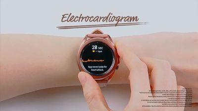 三星 Galaxy Watch 3 所提供的 ECG 心电图监测,已获美国 FDA 批准