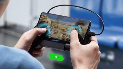 Anker 发布通用型的 PowerCore Play 6K 手机游戏手柄,售价约合 250 元