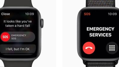 Apple Watch 防跌倒检查专利更新,语音呼叫急救中心、发送健康数据