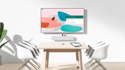 Google 与联想合作推出新的 Google Meet 视频会议硬件套件