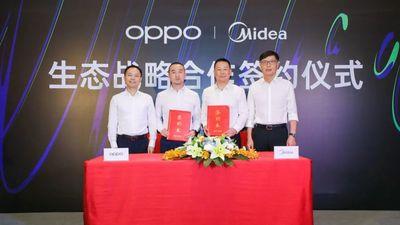 OPPO、美的战略签约,双方智能终端将实现全面互融