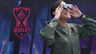 英雄联盟全球总决赛采用 Rokid Vision 作为 AR 观赛设备