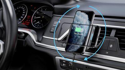 兼容 MagSafe 的无线车载充电座来啦,国产也在路上了