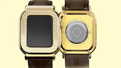 苹果联名 Caviar 推出「金钻」版 Apple Watch,30 万人民币考虑一下