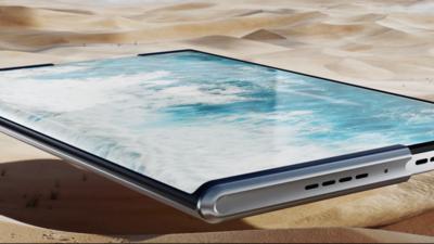 OPPO 亮相全新 OPPO X 2021 卷轴屏概念机