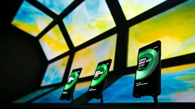 在高调的未来科技大会上,OPPO 低调地展示了 UWB 空间感知能力