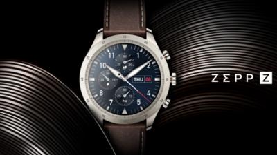 Zepp Z 智能腕表全球发布:经典设计下的全能健康旗舰,售价 2699 元