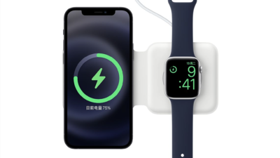 苹果 MagSafe 双项充电器 1049 元现已开售,我们聊聊充电那些事