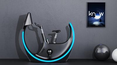 如影智能发布 AR 单车,4K 环幕大屏,多人联机游戏玩起来
