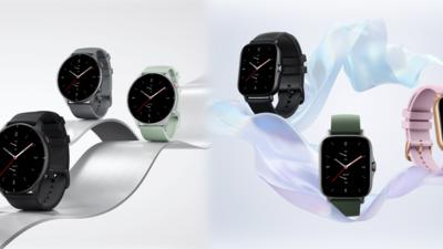 华米科技 Amazfit GTR 2e & GTS 2e 智能手表正式开售,新增测温工具及多彩配色