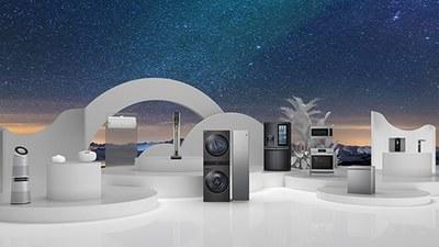 LG 新一代无线真空吸尘器亮相,干湿两用,还能自动清理垃圾箱 |  CES 2021