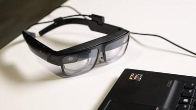 联想发布轻型的 ThinkReality A3 智能眼镜,可用于办公和工业场景