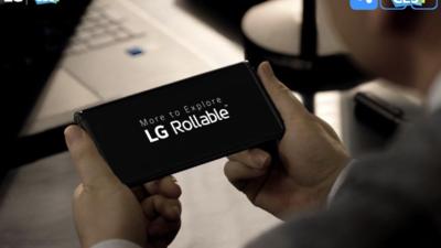 又一款卷轴屏概念手机 LG Rollable 亮相 CES 2021