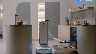 三星亮相两款未来感机器人,机器视觉与机械结构的融合是亮点 | CES 2021