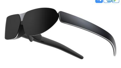 TCL 又亮相了一款智能眼镜,这一次把 1080p OLED 显示屏装了进来   CES 2021