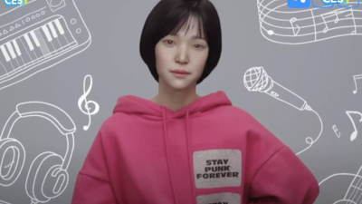 LG 启用虚拟 AI 人 Reah Keem 作为发布会主播 | CES 2021