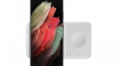 爆料:三星将推出双项无线充电器,可为手机、手表同时充电