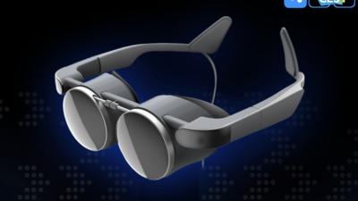 松下亮相一款新的 VR 眼镜,采用 Kopin OLED 光学方案 | CES 2021