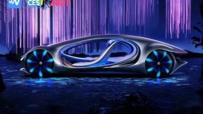 超级屏幕、飞行汽车,All in 电动汽车和自动驾驶 | CES 2021 汽车新闻回顾