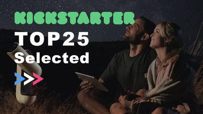 独家:Kickstarter 收入逆势上涨,盘点 TOP25 众筹项目带来的启发