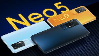 尽享流畅高帧游戏体验,「新生代性能旗舰」iQOO Neo 5 正式发布