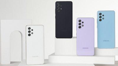 三星中端机 Galaxy A52 和 A72 上市,高刷新率显示屏